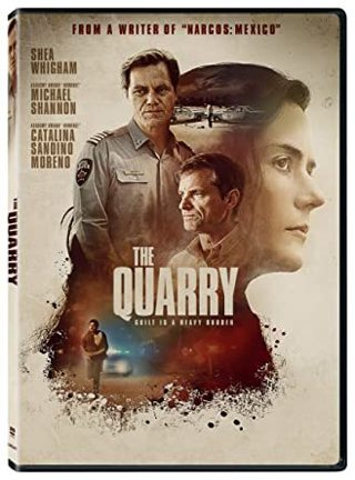 THE Quarry, Michael Shannon (New Release) Disc only DVD