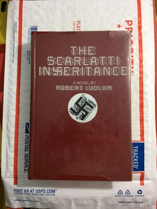 The Scarlatti Inheritance: A Novel by Robert Ludlum HARDCOVER Espionage Mystery Suspense