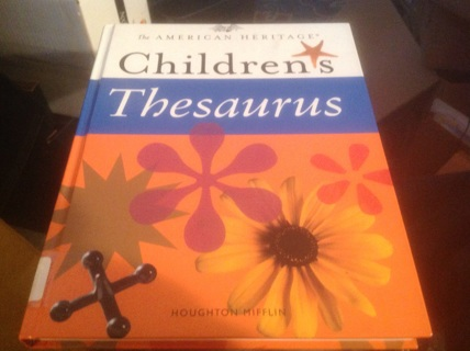 THE AMERICANCHILDREN'S THESAURUS BY PAUL HELWEG