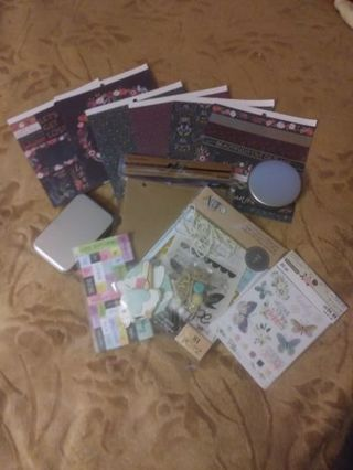 Fabulous Scrappers crafting lot! °·°·°Calling all paper crafters!!°·°·°