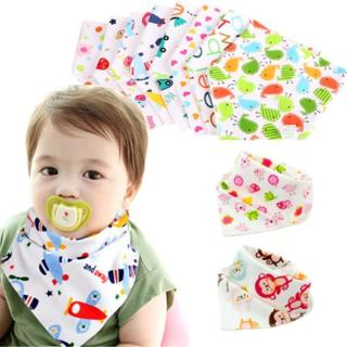 Cotton Bibs Burp Cloth Bandana Bibs Absorbent Babador Baby Apron Car Baby Eat Napkin Stuff for Bab