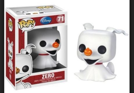 NEW Funko Pop Disney The Nightmare Before Christmas: Zero