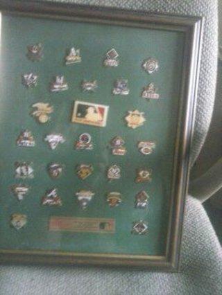 baseball pins of all teams