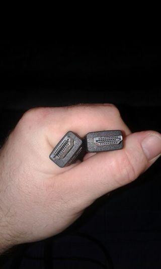 HDMI cord.