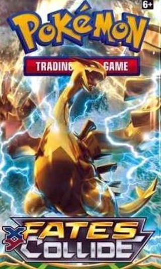 NEW Pokemon TCG: XY FATES COLLIDE Booster Pack Pokemon Cards TCG