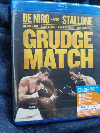 New & Sealed Blu-Ray Disc---Grudge Match Rated PG-13 Digital HD Copy Included