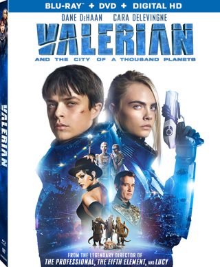 Valerian & The City of A Thousand Planets (Digital HD Download Code Only) *Sci-Fi* *Cara Delevingne*
