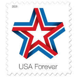10 forever postage stamps