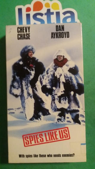 VHS movie  spies  like  us   free shipping