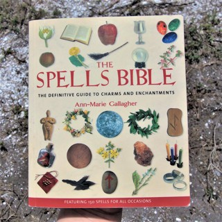 THE SPELLS BIBLE ☽✪☾ Wicca Witchcraft Magick Pagan Witch ☽✪☾ Great book! ~ FREE SHIPPING