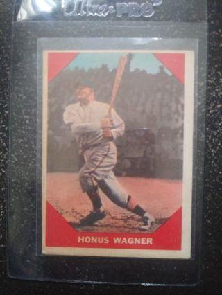 1960 Fleer Honus Wagner (HOF)(Pirates)