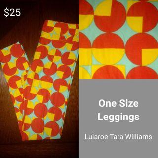LULAROE WOMEN'S OS LEGGINGS NEW