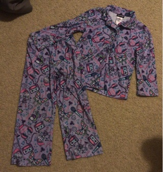 Joe Boxer - Girls Size 4 5 - Pajamas - LIKE NEW