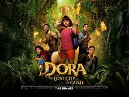 DORA AND THE LOST CITY OF GOLD DVD IN WHITE SLEEVE NEW RELEASE