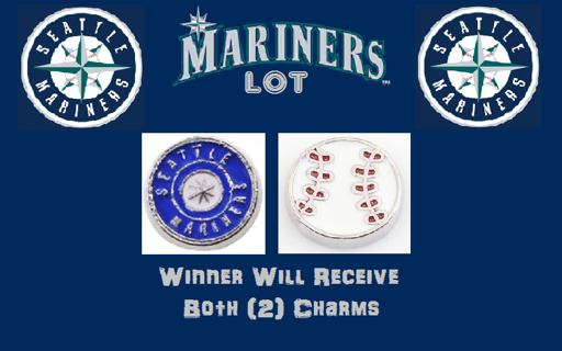 ⚾⚾⚾ Seattle Mariners Lot ⚾⚾⚾ Living Locket Charm(s) ☆VERIFIED USERS ONLY PLEASE☆