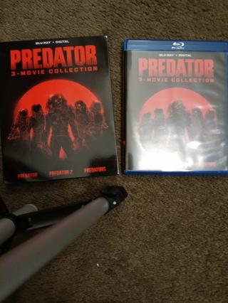 The Predator 3 Movie Collection w/Slipcover - No Digital