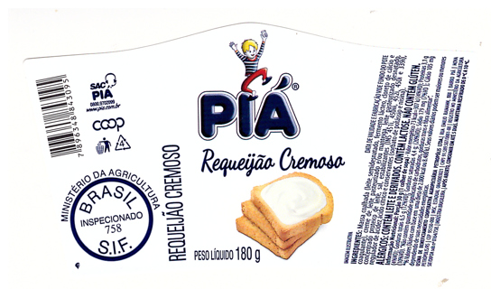PIÁ label