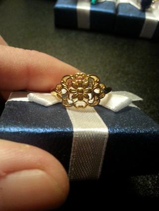 Sterling ring 1