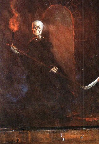 1996 Don Maitz Fantasy Art Trade Card: The Reaper