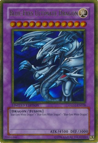 Blue eyes ultimate dragon gold series misprint golden feathered dragon wallpaper