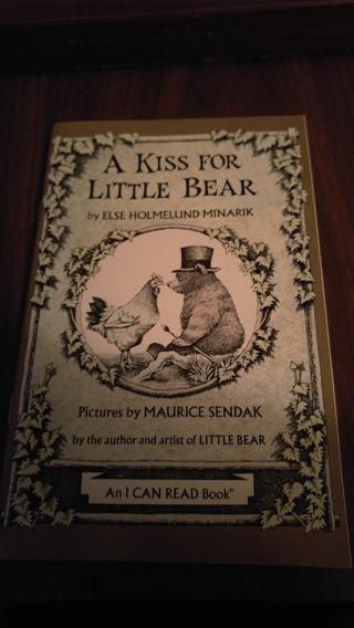 A Kiss for Little Bear - new