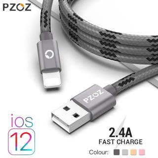 PZOZ usb cable for iphone cable Xs max Xr X 8 7 6 plus 6s 5 s plus ipad mini fast charging cables