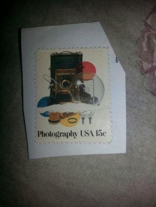 USA stamp. Used