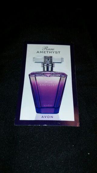 Rare amethyst perfume sample