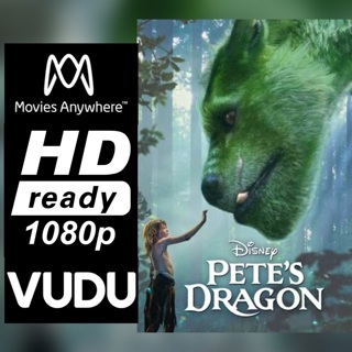 PETE'S DRAGON HD MOVIES ANYWHERE OR VUDU CODE ONLY