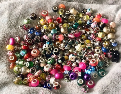 DESTASH! Euro / European Pandora Style Beads & Spacers