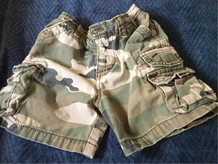 Childrens Place Camo Shorts