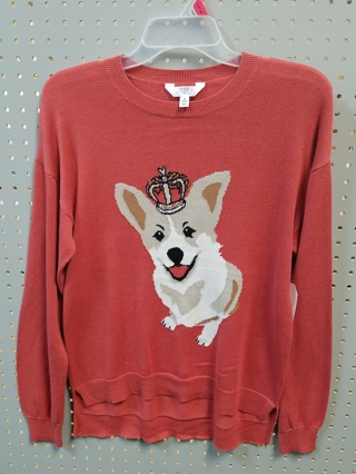 NWT! TIME & TRU Women's Sweater-Size S (4-6)]