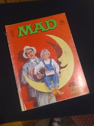 "MAD Magazine No. 164 Jan 1974 ""Paper Moon"""