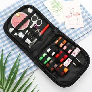 [GIN FOR FREE SHIPPING] Portable Mini Travel Household Sewing Box Set