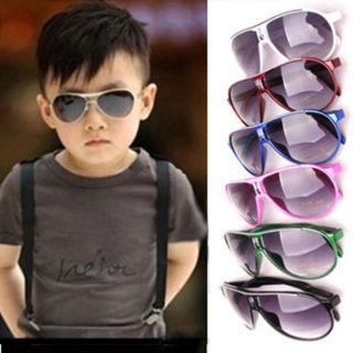 Stylish Cool Child Kids Boys Girls UV400 Sunglasses Shades Baby OY