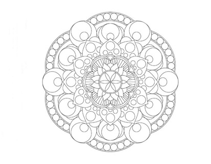 ~☆(New) 5 Misc. Mandala Coloring Sheets ☆~