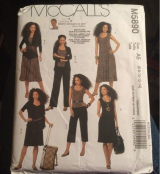 McCall's Sewing Pattern. M5890