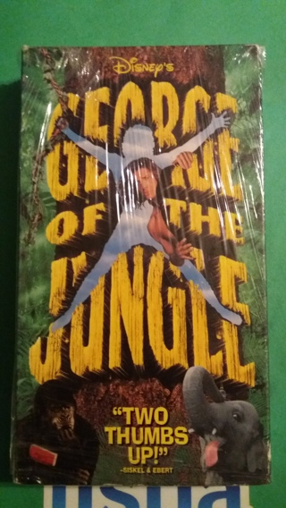 vhs george of the jungle free shipping