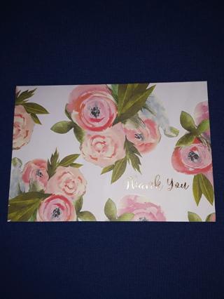 Notecards - Pink Floral