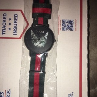2ba8e1c7a25 Free  Gucci Unisex Cat Watch 100% Authentic - Wallets   Accessories ...