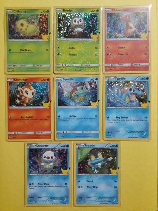 ☆MEGA☆ McDonald's Pokemon Promo Lot