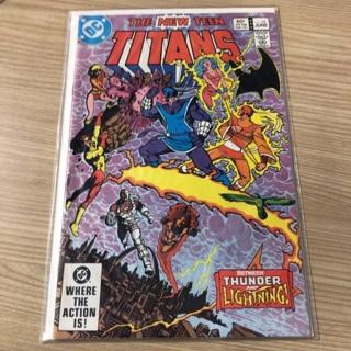 teen titans comics from 1983  By Detective Comics (DC)