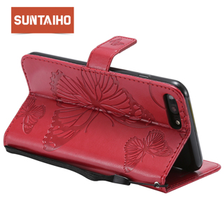 Suntaiho Case for iphone X cover for iphone 6s Plus case for iPhone 7Plus PU Leather Phone Case for