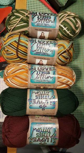Yarn Hobby Lobby Love This Cotton 5 Skeins Brand New