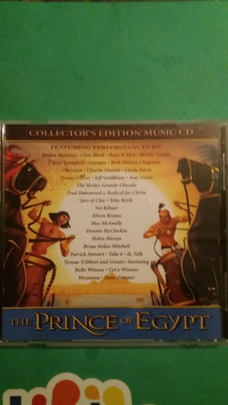 cd the prince of egypt collector's edition music cd free shipping