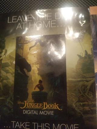 Disney's the jungle book digital copy