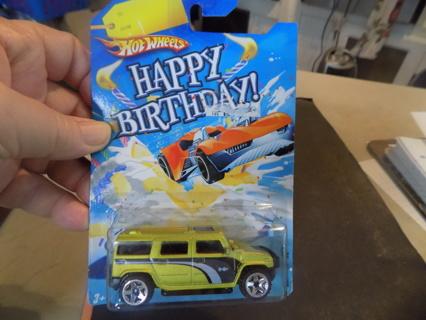 Hot Wheels Happy Birthday Hummer H2 Vintage 2008