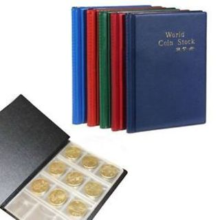 Chic Penny Wonderful Storage HOT Album Book 120 Coin Coin Holder Collection