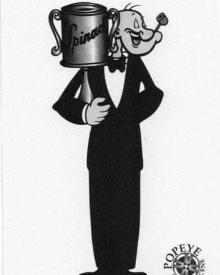 1994 Popeye Comics Collectible Trade card: Popeye's 20th Anniversary (1954)