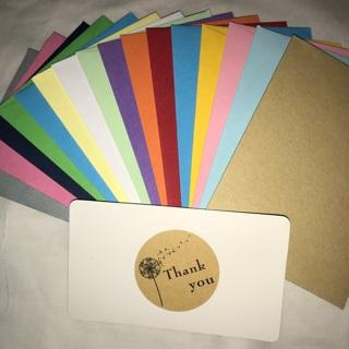 Thank You Cards w/ Mini Envelopes
